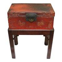Chinese Export Pigskin Box