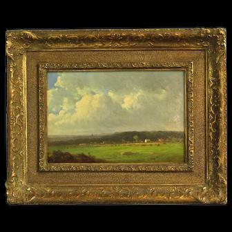 """Berkshire Meadows"" Painting by Thomas Bigelow Craig"