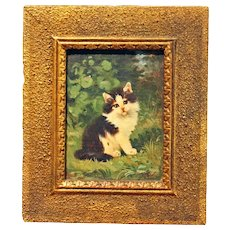 """""""Kitten"""" oil painting"""
