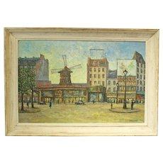 Charles Vaniscotte Oil on Canvas