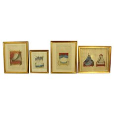 Collection of French Bed Lithographs