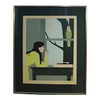 """Silent Season- Spring"" Print by Will Barnet"
