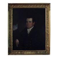 American Portrait of A Gentleman, c. 1830