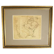 """North America"" Map by T. Kitchin"