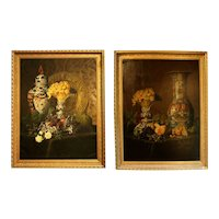 Mid 19th Century Still Life Paintings by J.J. Eyers - a Pair