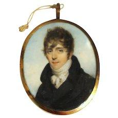Miniature Portrait of Thomas Layton, 1804