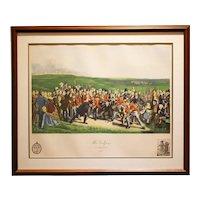"Print by Sydney Z. Lucas ""The Golfers, St. Andrews, 1847"""
