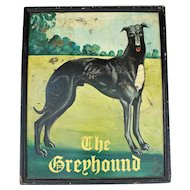 19th Century Pub Sign: The Greyhound