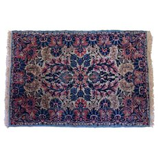 Semi-Antique Kirman Mat