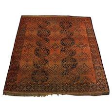 Semi-Antique Afghan Bokhara Rug