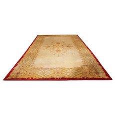 Mid 19th Century German Biedermeier Wool Hooked Carpet