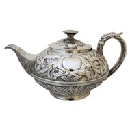 George III Repoussé Tea Pot