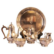 5-Piece Sterling Tea & Coffee Service by Gorham