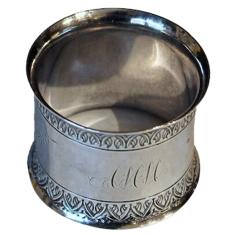 Gorham sterling napkin ring