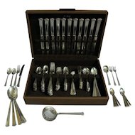 Art Deco Sterling Silver Flatware Set