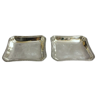 Pair of Tiffany & Co Vegetable Dishes