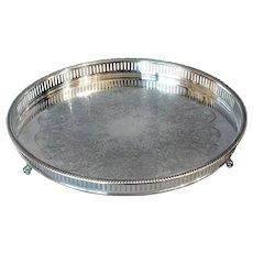 Bristol Silve Plate Tray