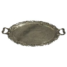 Gorham Silver Plated Tea Tray