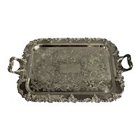 """Norman Old English Reproduction"" Tea Tray"