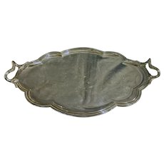 Late 19th Century French Silver Plated Tea Tray