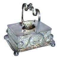 20th Century Sterling Silver Sardine Server
