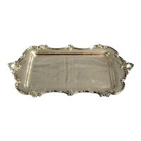Late 19th Century Rococo Revival Sterling Tray