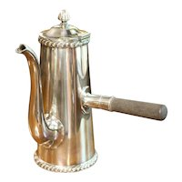 Silver Soldered Holmes & Edwards Chocolate Pot