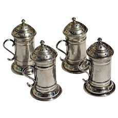 Set of Four Sterling Casters from the MMA Collection