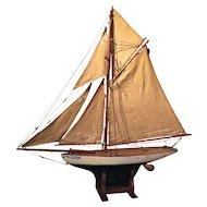 c.1900 English Pond Yacht