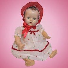 Wonderful Merry Christmas Dress & Bonnet for Dy Dee Baby