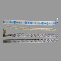 -High Quality Vintage Sewing Trims-Yards!