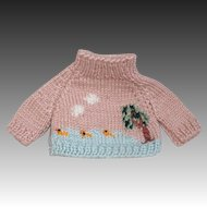 Another Adorable Knit Doll Sweater