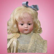 Heart Melting Kestner 184 Character Art Doll-Glass Eyes