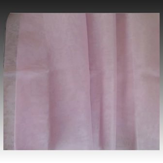 Gorgeous Vintage Cotton Organdy Fabric-Lilac