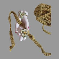 Old Gold Silk/Cotton Gimp-Elegant