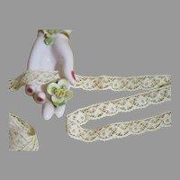 Fancy Rose Cotton Lace-England