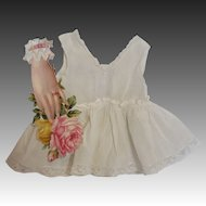 Frilly Vintage Doll Combination