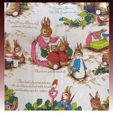 Wonderful Peter Rabbit Vintage Fabric