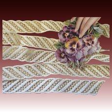 Antique Cotton Lace Insertion