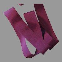 Deep Wine Color Grosgrain Ribbon