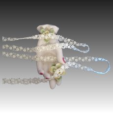 White Rosebud Trim