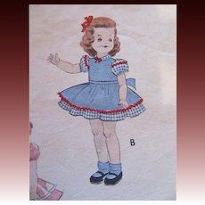 Butterick Saucy Walker Original Clothing Pattern