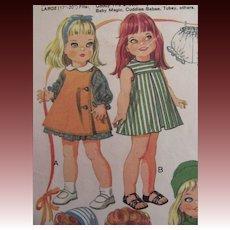 Vintage Giggles Doll Wardrobe Pattern