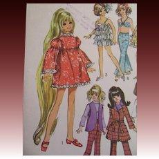 Groovy Vintage Wardrobe Pattern for Crissy!