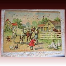 Barnyard Antique Puzzle