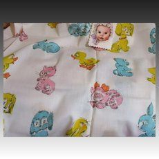 Baby Animal Nursery-Baby Fabric