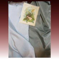 Two Shimmering Silk Fabrics-