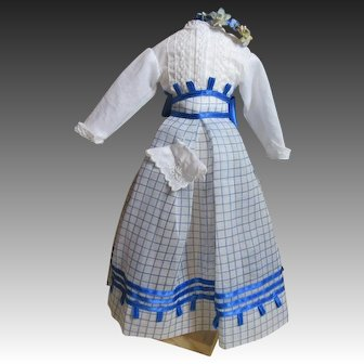 Beautiful Four Piece Summer Doll Costume-1868