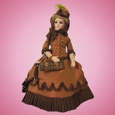 Fabulous Silk Travel French Fashion Doll Ensemble