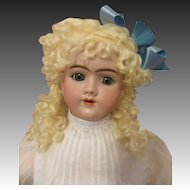 Pretty Handwerck Antique Doll-Blue Eyes